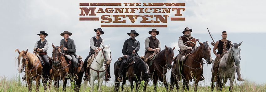 The Magnificent Seven Blu-ray movie.