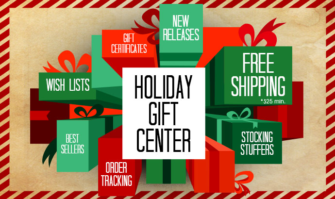Get set for the holidays with our Holiday Gift Center!